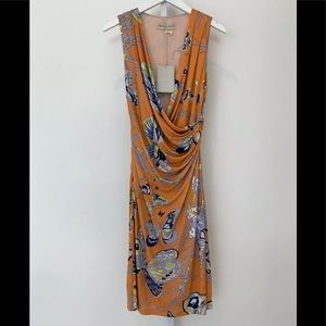 MILIO PUCCI BUTTERFLY DRESS 31R141 SIZE 8 NWTS!